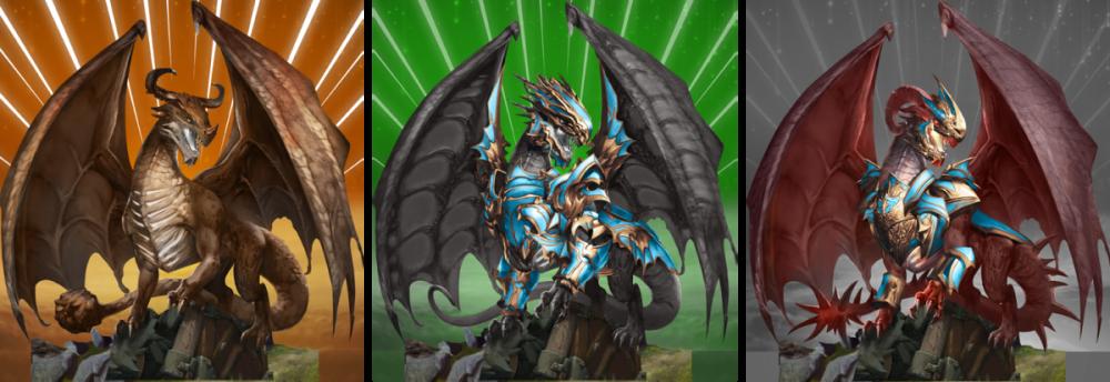 Drakewars game dragons