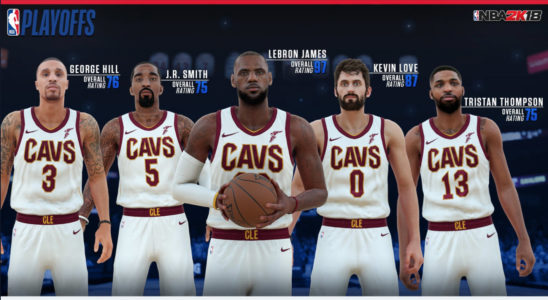 NBA 2K18 Reveals Updated Ratings For Eastern Conference Starters