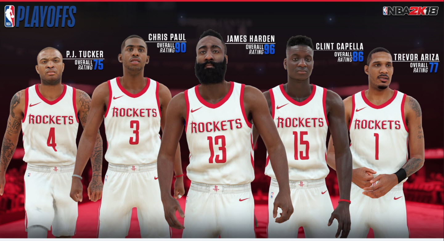 NBA 2K18 Releases Updated Ratings For Western Conference