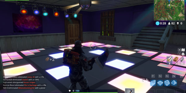 Where To Find All Three Different Dance Floors In Fortnite