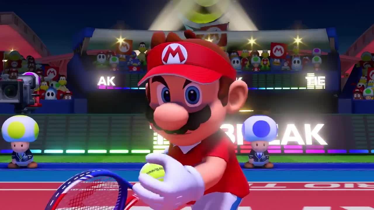 Mario Tennis Aces Full Roster