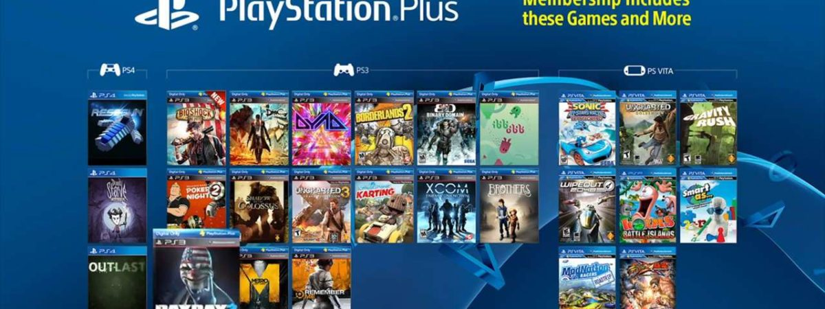 PlayStation Plus Will Stop Offering Free PS3 and Vita Games Next Year
