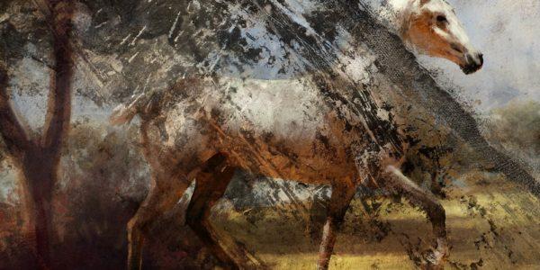 Battlefield Horse Painting