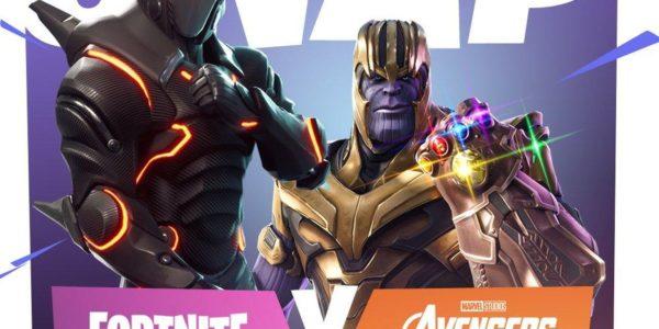 Avengers in Fortnite