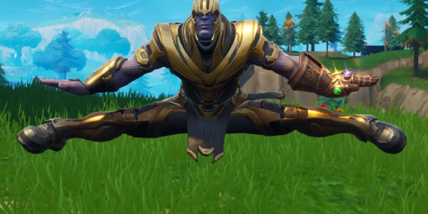 Watch Thanos Dab In Fortnite And Perform Other Emotes