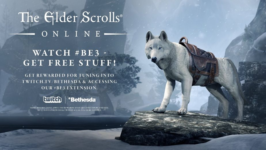 Elder Scrolls Online Offers Exclusive Items During Bethesda's E3
