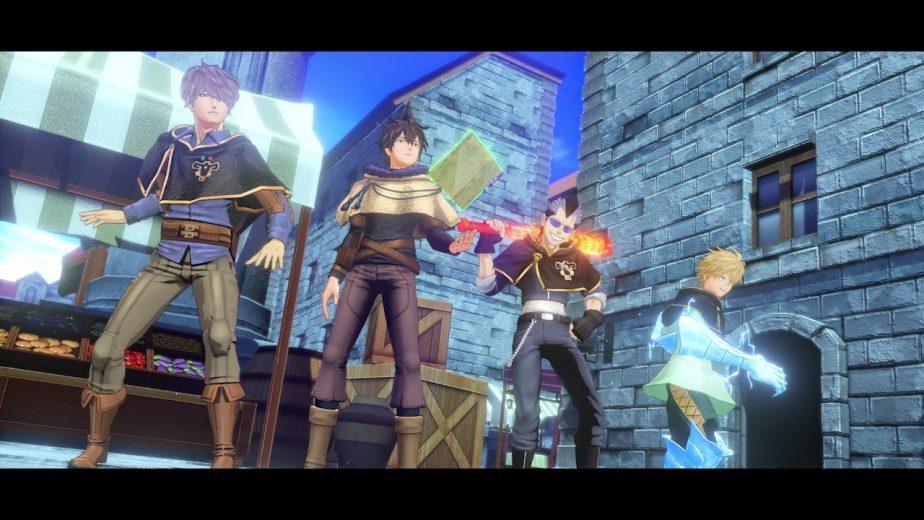Black Clover Quartet Knights Closed Beta