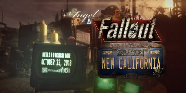 Conversion Mod Fallout New California Announces October Release Date