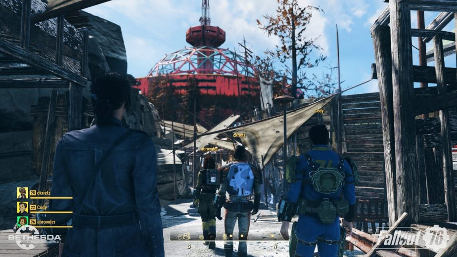 Fallout 76 Appears to Favor Cooperation Over Competition