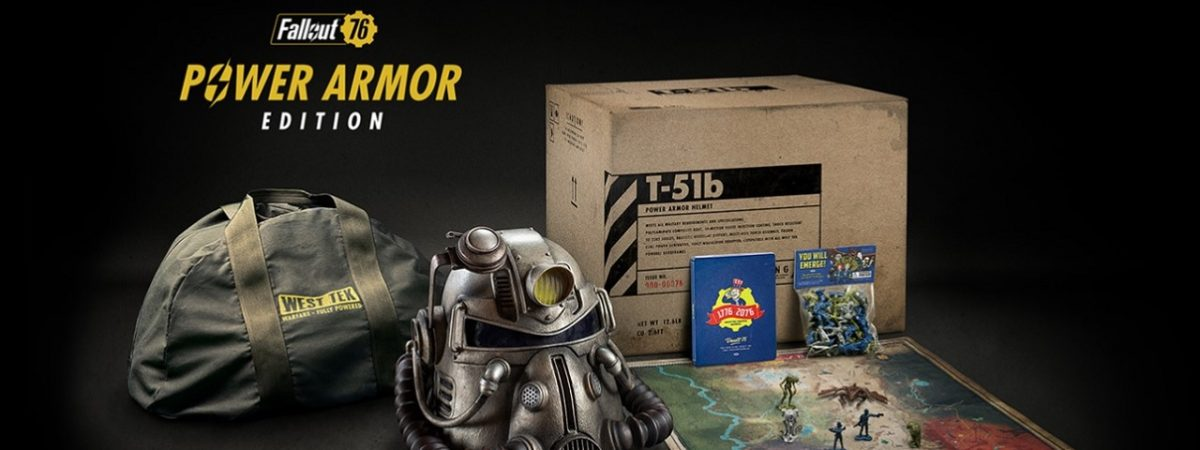 Fallout 76 Power Armour Edition Includes a Wearable Helmet