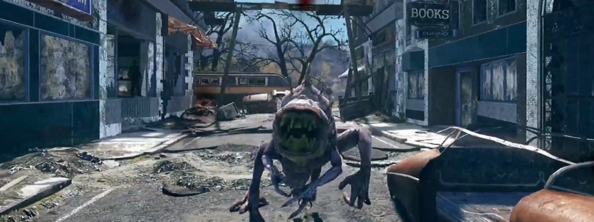 Fallout 76's Snallygaster Differs From the Folklore in That it Lacks Wings