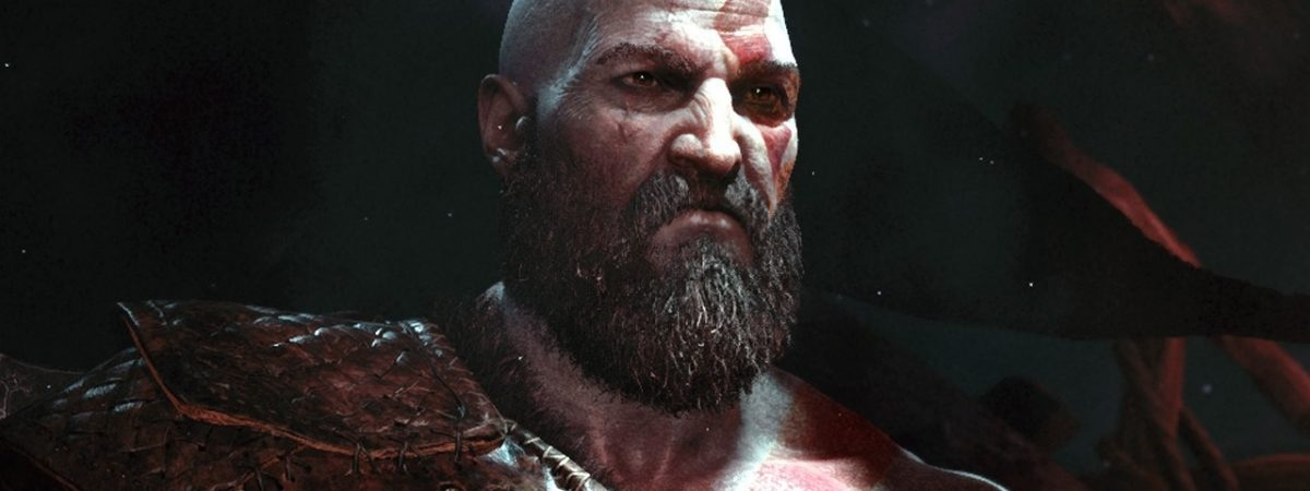 God of War Art Director Tweets Early Renders of a Beardless Kratos