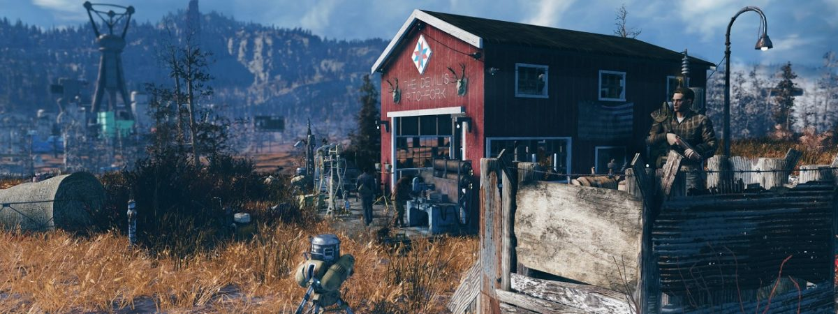 New Fallout 76 Trailer Looks at Base-Building