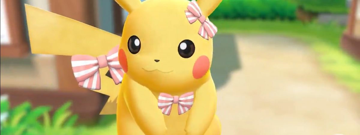 Pokemon Let's Go Pikachu and Eevee! Customization