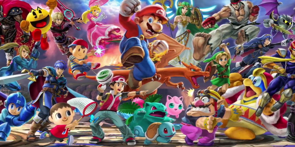 Every Super Smash Bros. character ever will be playable on the Switch