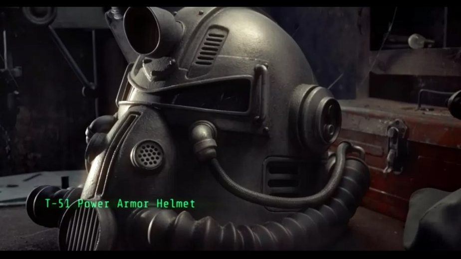 The Helmet is Modelled After the T-51 Power Armour Helmet