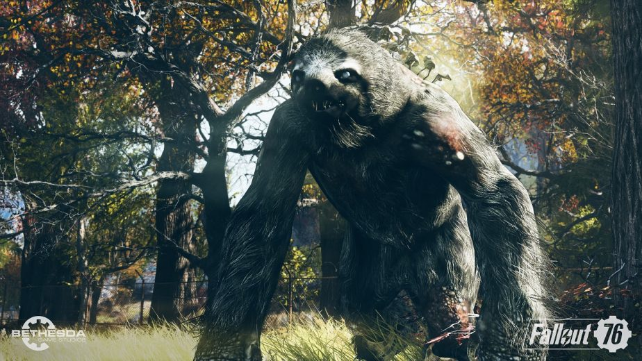 The Mega Sloth is Just One of Fallout 76's New Enemies