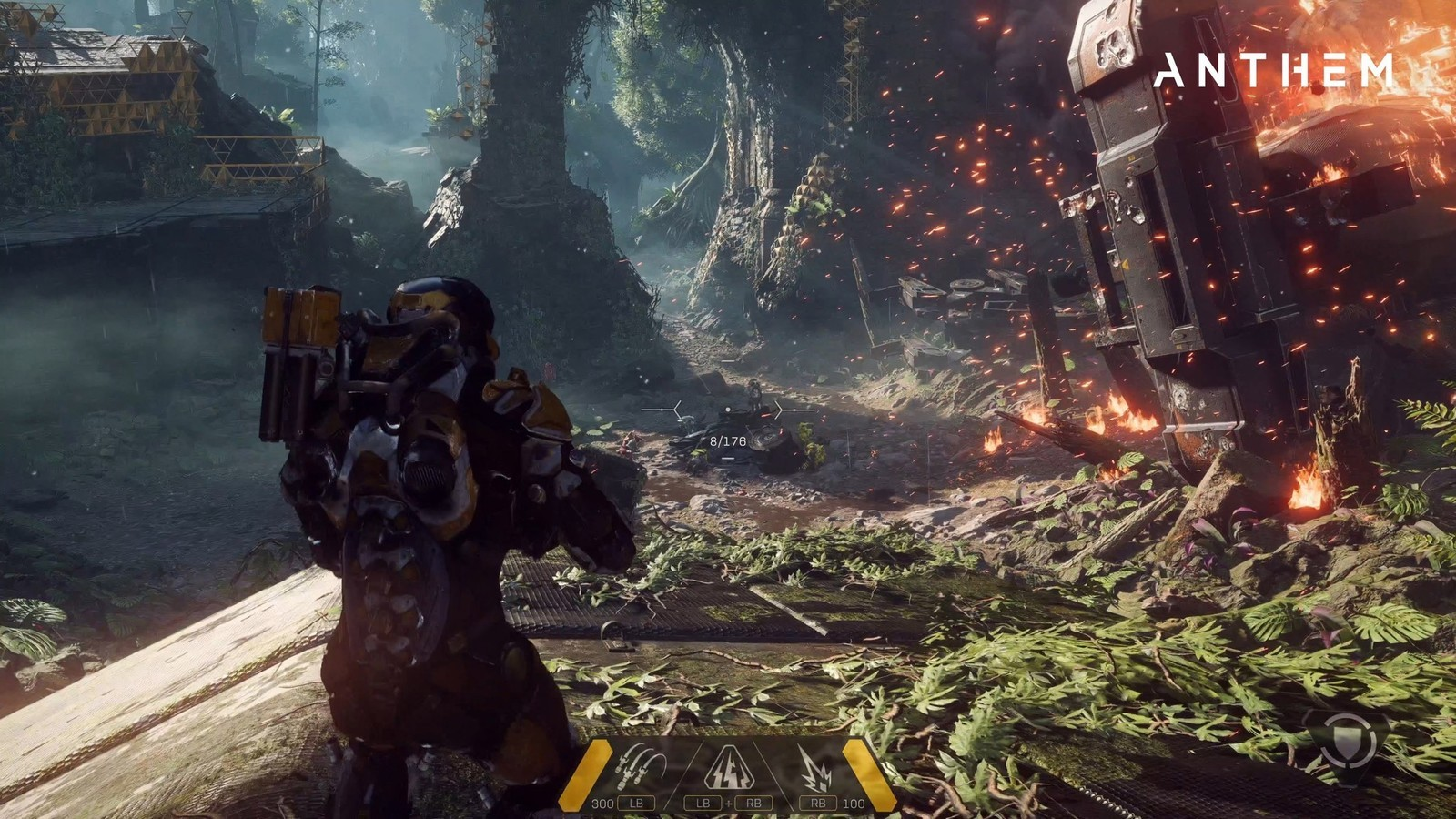 check out new 4k footage of bioware s anthem