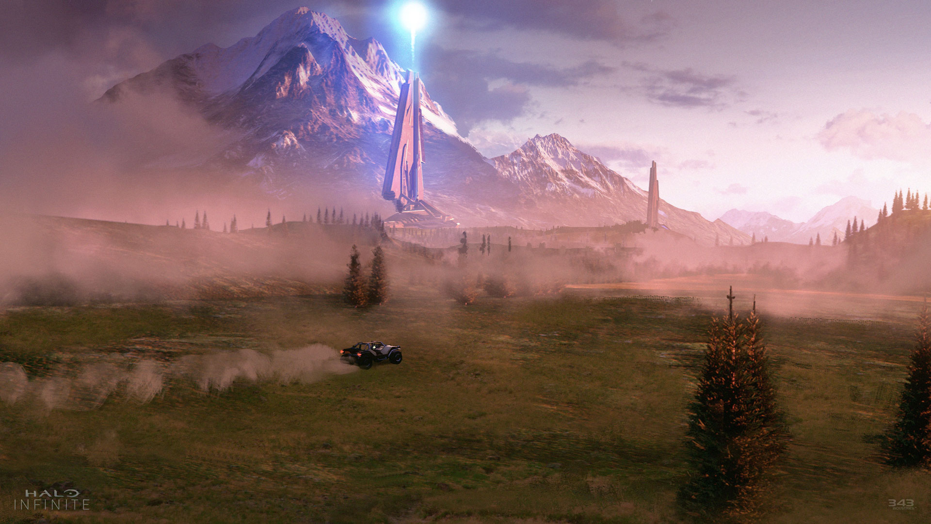 343 Industries Reveal Halo Infinite Artwork And They Look