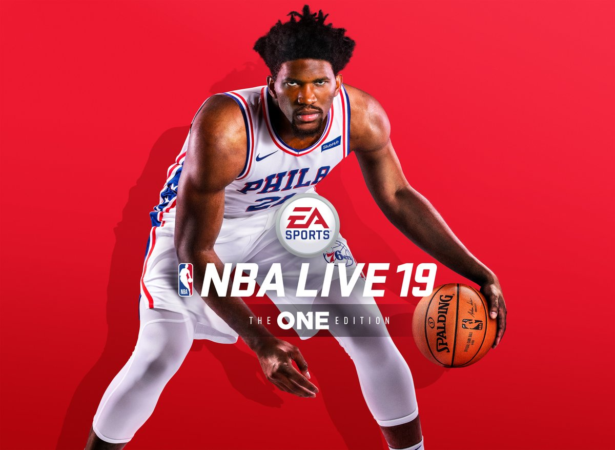 7843149327e Joel Embiid Announced As NBA Live 19 Cover Athlete