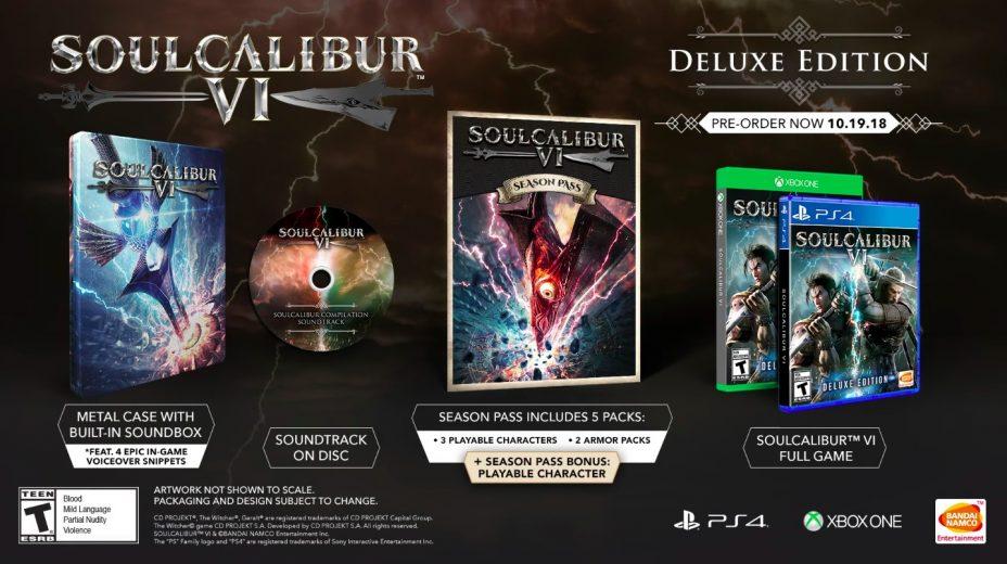 The Soul Calibur 6 Deluxe Edition