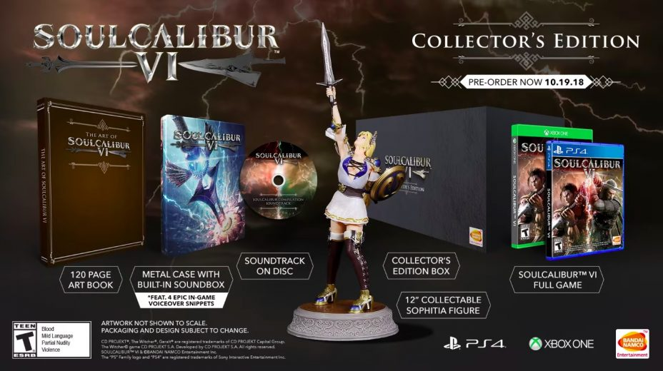 The Soul Calibur 6 Collector's Edition