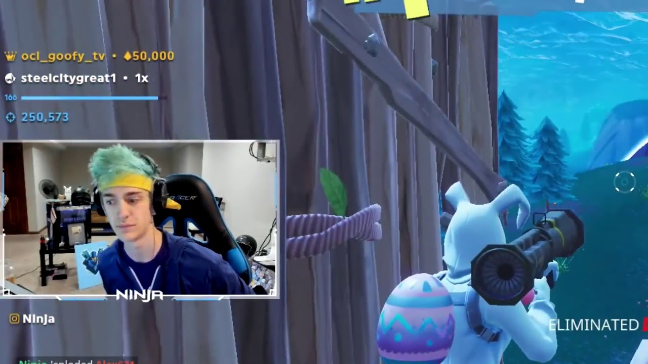 Fortnite Sniped Latest Fortnite Update Hides Streamers Names In Killfeed To Combat Stream Sniping