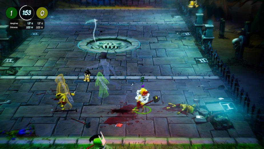 Graveball Screenshot 2