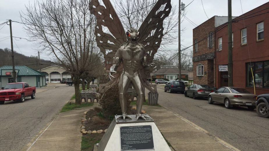 A Statue of the Mothman Was Erected in 2003