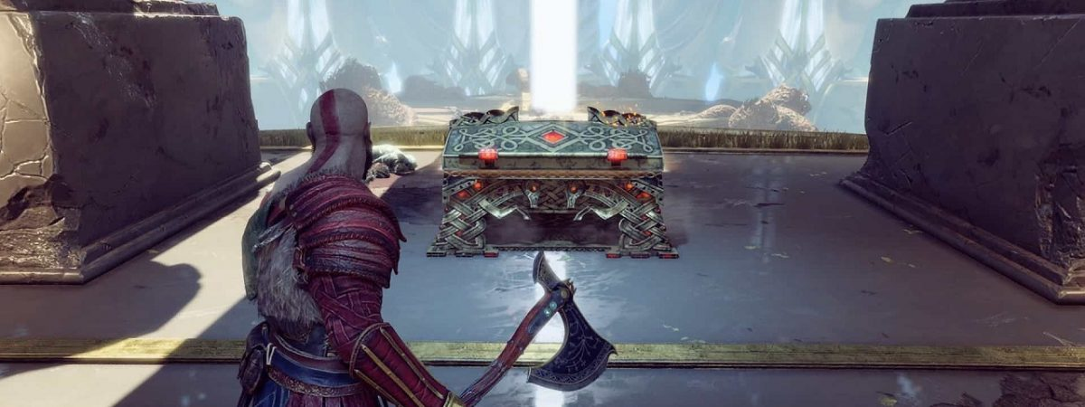 A Twitch Streamer Has Created a 3D-Printed God of War Chest