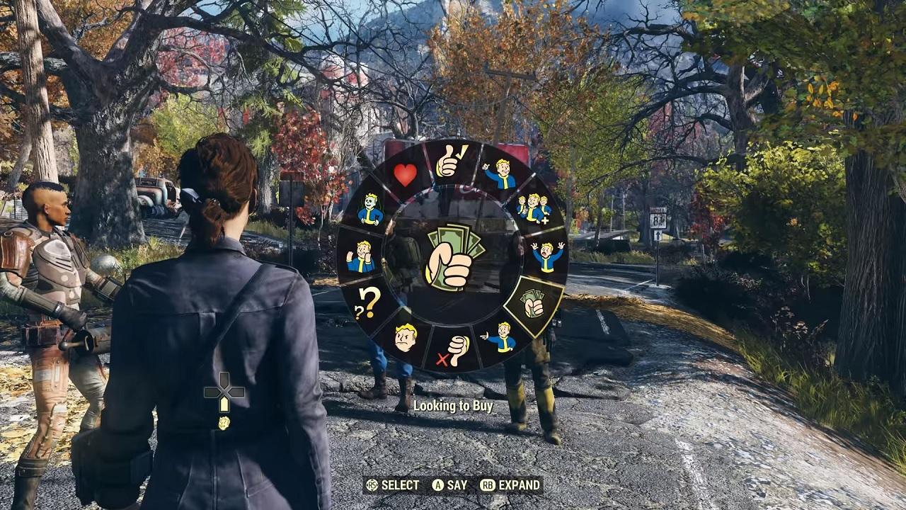 Bethesda Tweets Fallout 76 Emote Wheel to Mark World Emoji Day