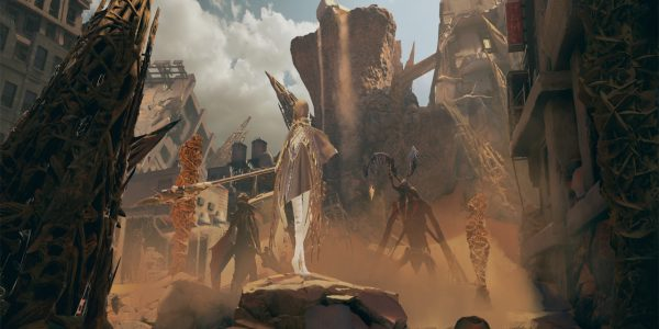 Code Vein Screenshots Introduces Crowd-Sanded Ruins and New