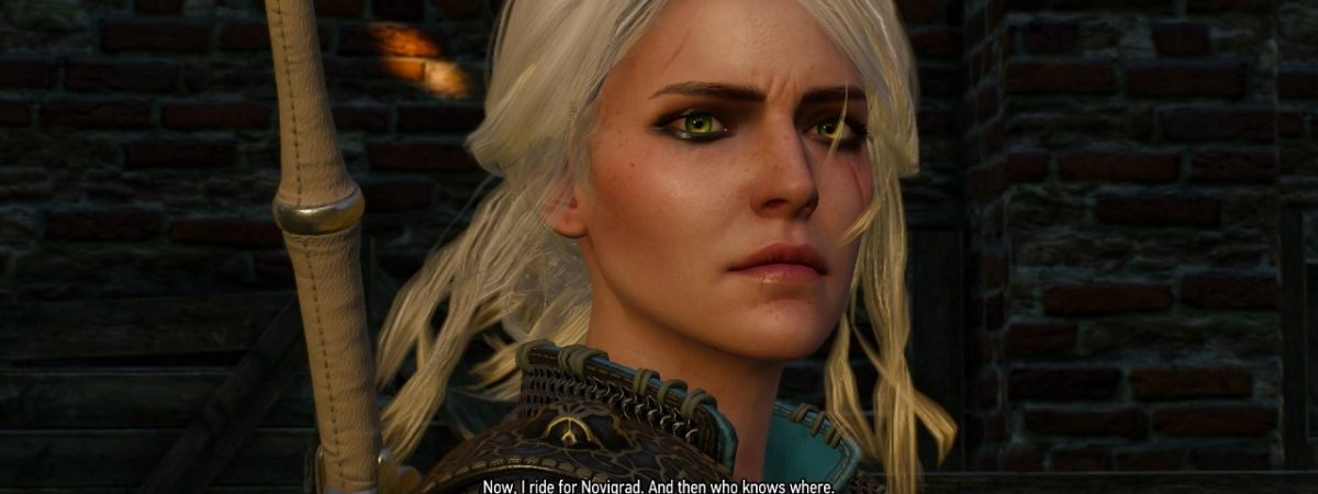 Geralts Voice Actor Thinks The Witcher 4 Should Focus On Ciri