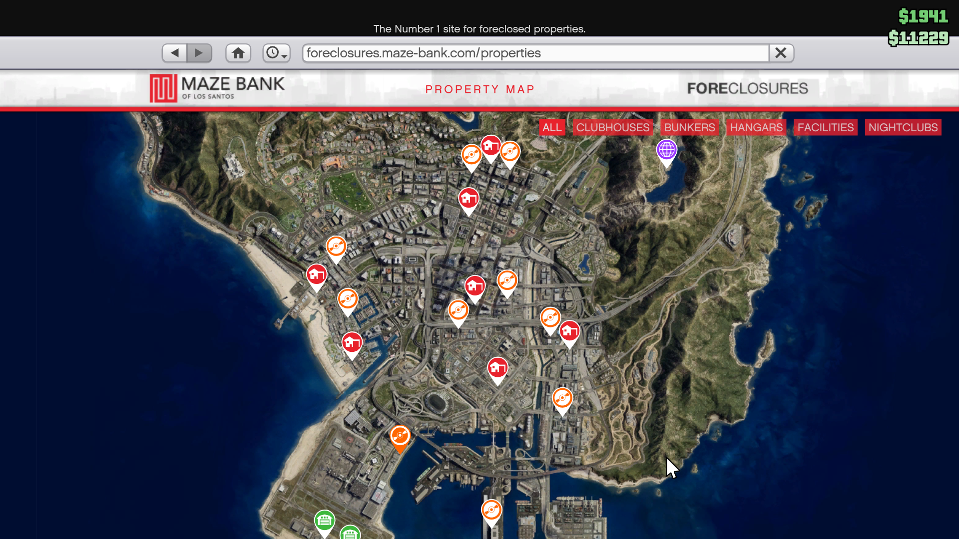 Gta5 Karte.Every Nightclub Location Price In Grand Theft Auto Online After Hours