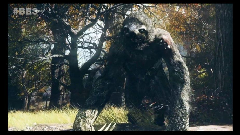 Beasts of West Virginia: The Mega Sloth in Fallout 76