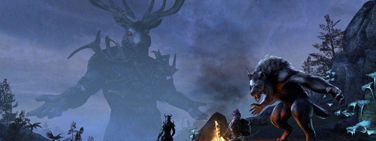 The v4.1.0 Elder Scrolls Online Update Adds Wolfhunter to PTS Servers