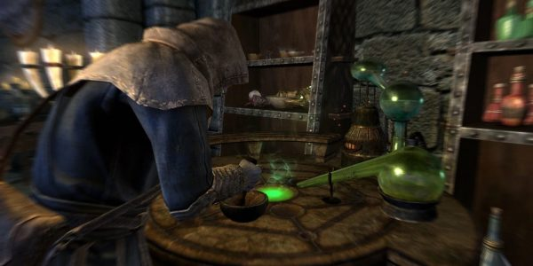 Alchemy is One of Skyrim's Three Main Crafting Systems