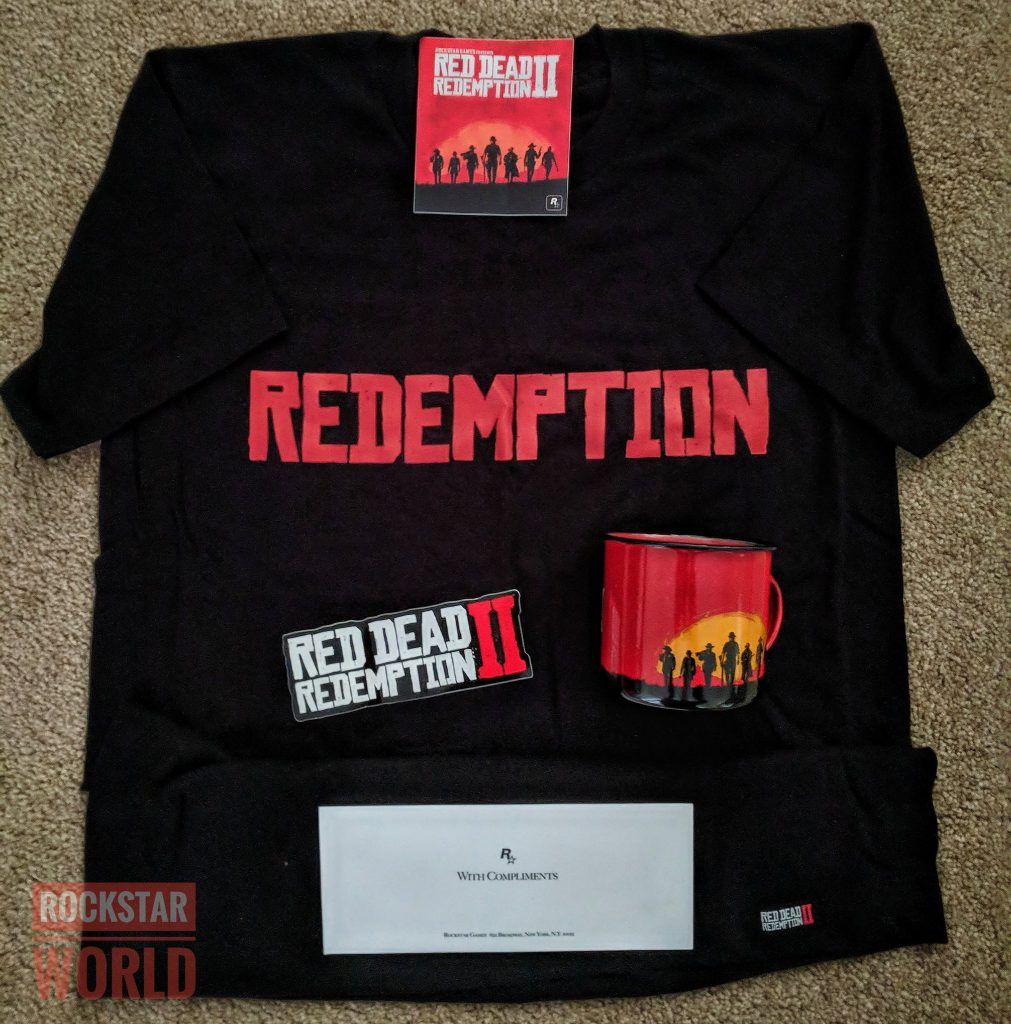 red dead redemption 2 shirt merchandise clothing gift news update release date media info