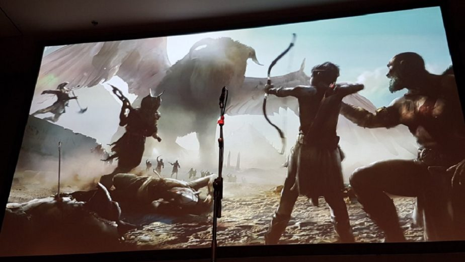 Early God of War Concept Art Shows an Egyptian Setting