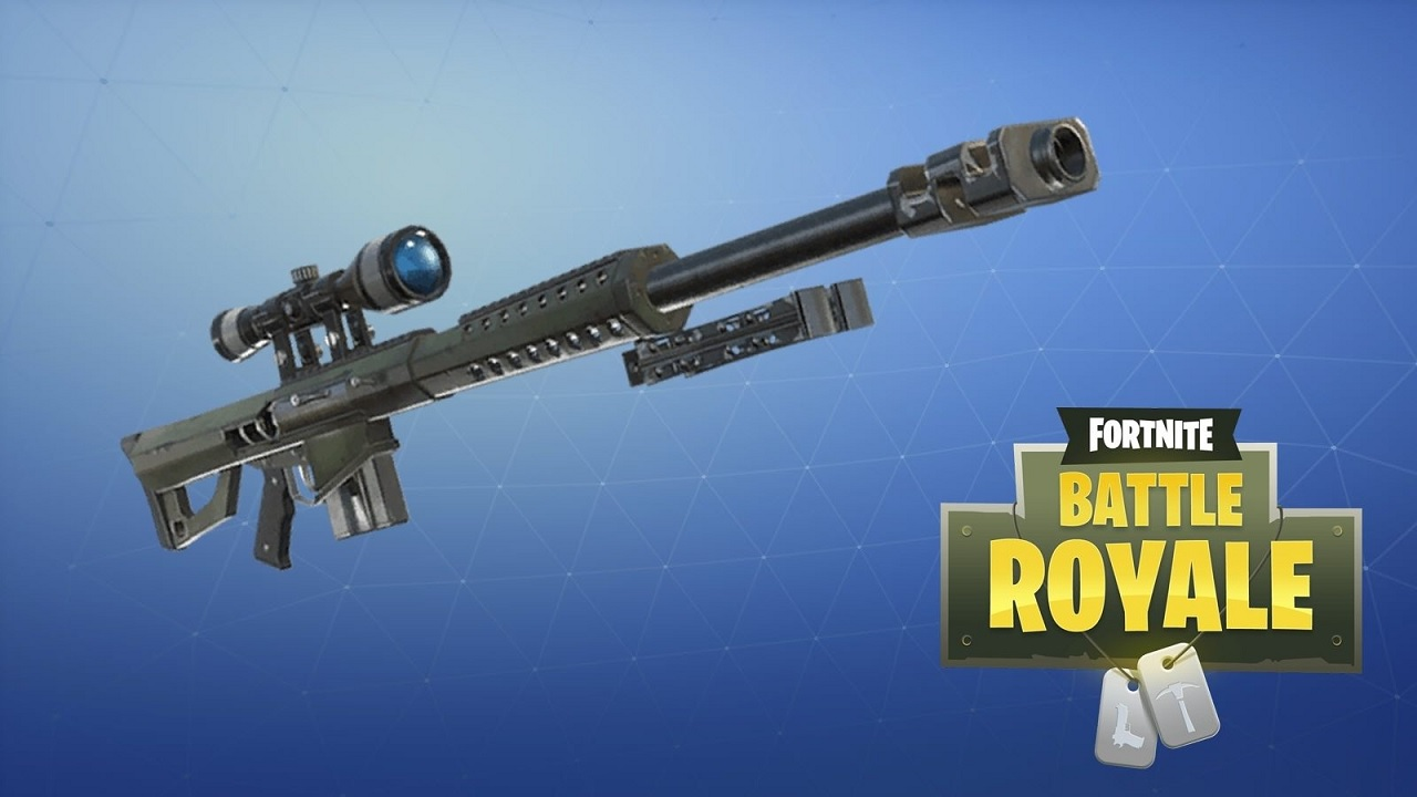 The Long Awaited Heavy Sniper Is Finally Coming To Fortnite