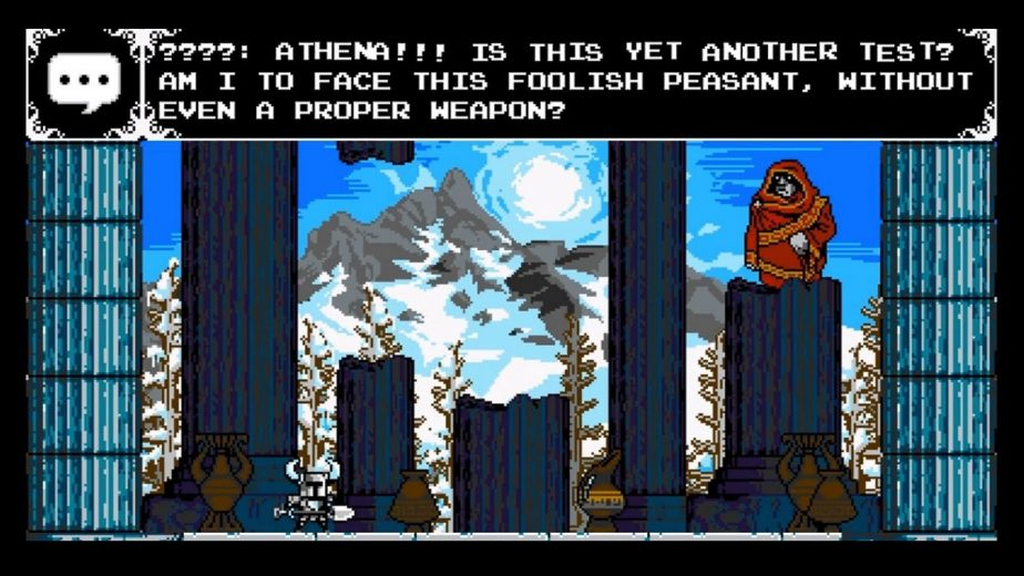 God of War Canon Apparently Includes Kratos' Cameo Appearance in Shovel Knight