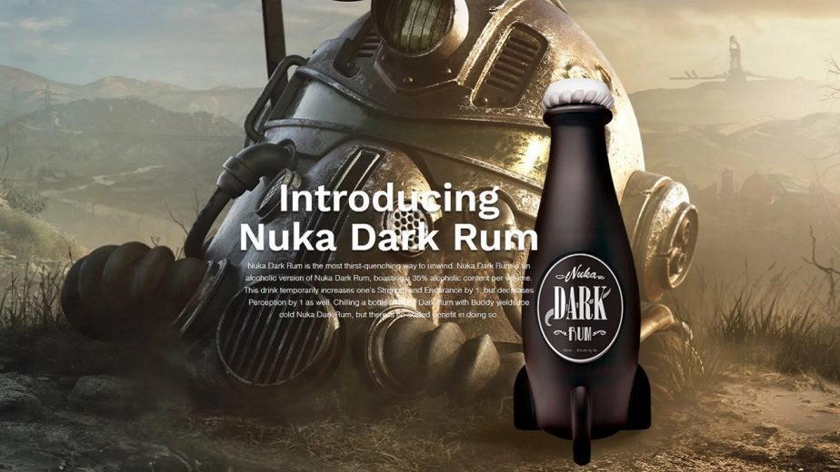 Nuka Dark Rum is Being Created by the Silver Screen Bottling Co.