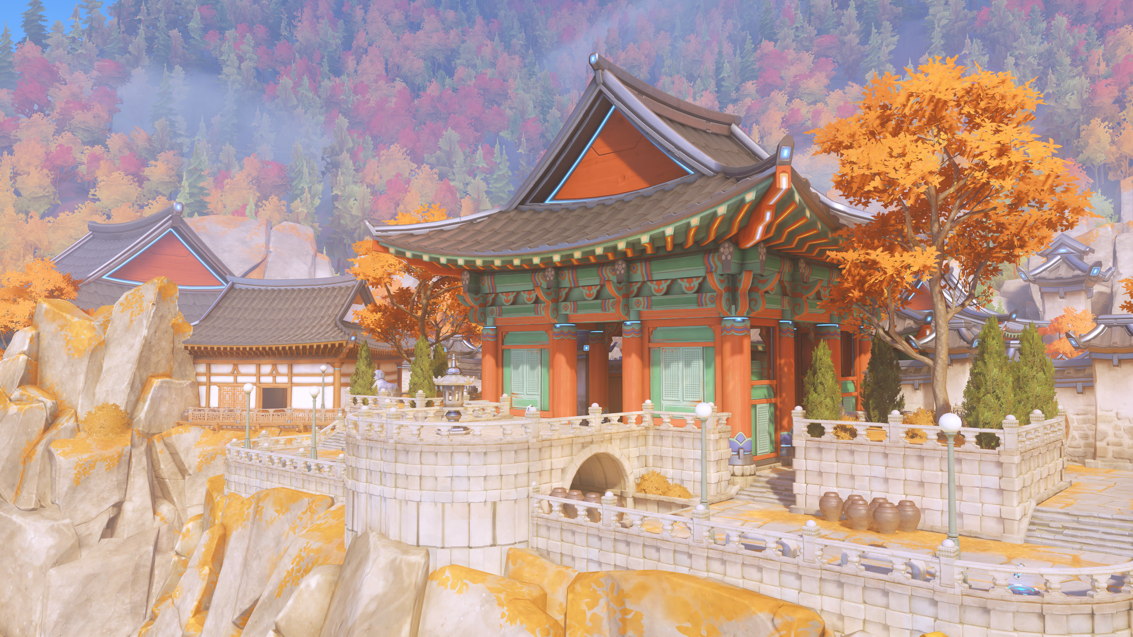 New Busan Map is Live, Update Also Brings Reinhardt's