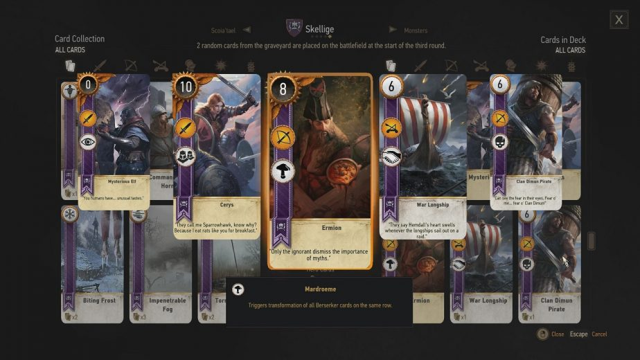 Players Will Need to Use Skellige or Nilfgaard Decks to Participate