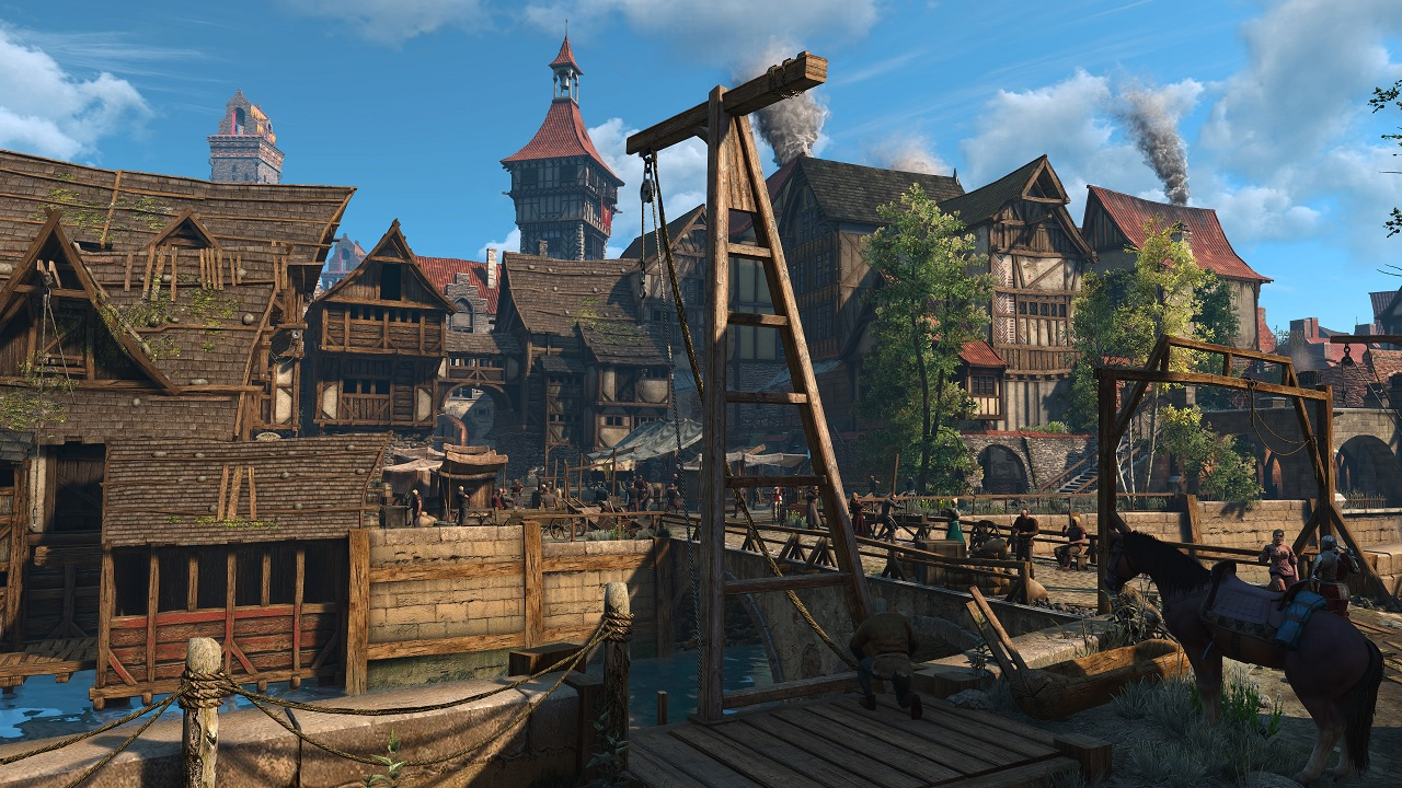 New Witcher 3 Mod Gives White Orchard and Velen New High