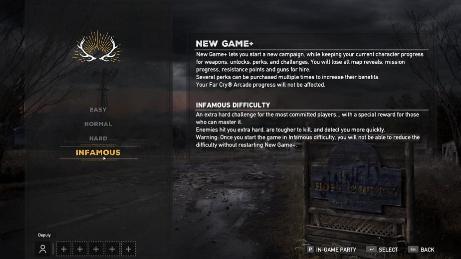 Ubisoft Has Added a Far Cry 5 New Game Plus Mode