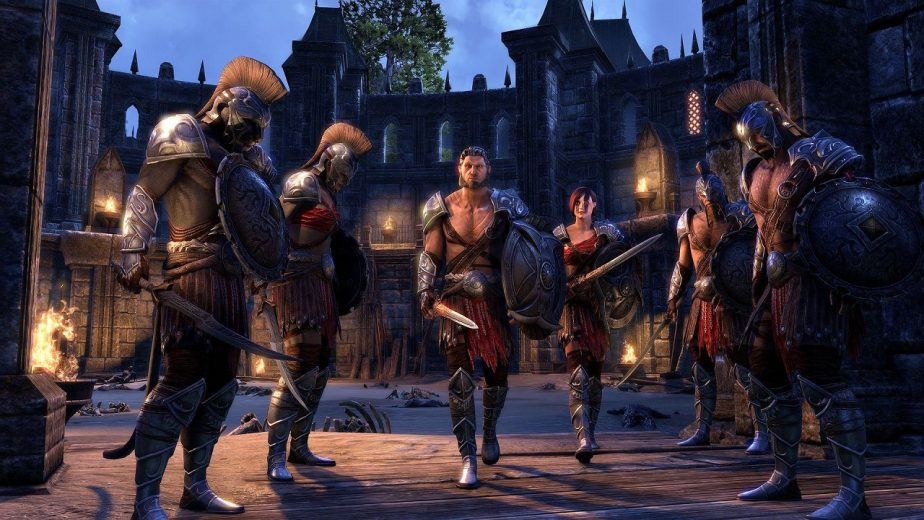 Update 19 for Elder Scrolls Online Adds the Arena Gladiator Costume