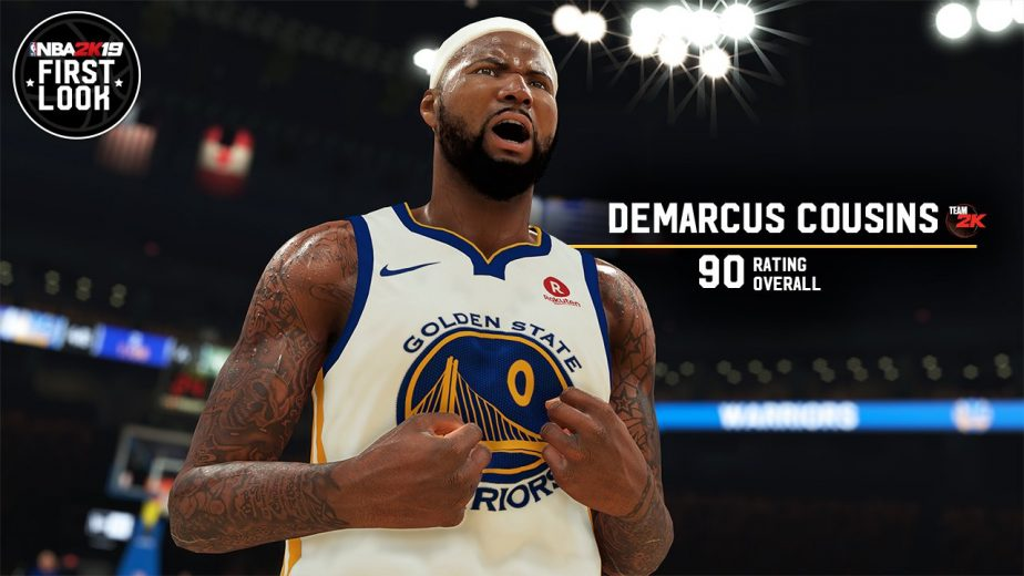 3601856216c7 NBA 2K19 Player Ratings Revealed For Each Starting Lineup
