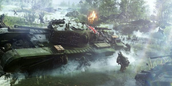 Battlefield 5 Open Beta Didn't Include Light Tanks