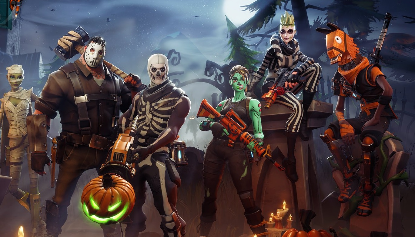 Fortnite Is Getting Halloween Decorations All Over The Map